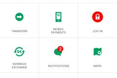 1 BZWBK 24 Mobile app main view